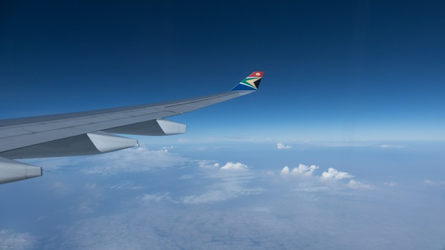 Wing over the African continent